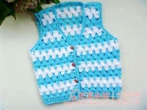 Crochet baby vests make handmade crochet craft