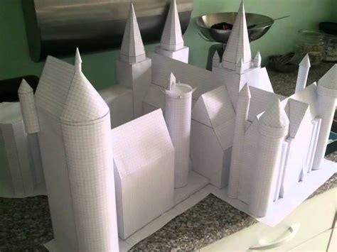 Hogwarts Castle Papercraft - poudlard hogwarts en 3d papercraft
