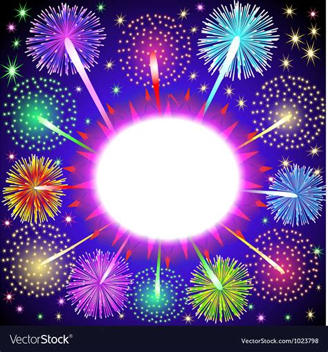 firework background fireworks background royalty free vector image