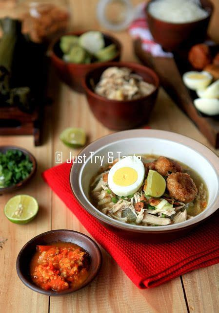 cara membuat nasi kuning banjar just try taste soto banjar a la just try taste food
