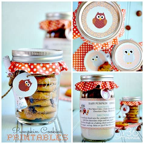 printable biscuit recipes pumpkin cookie recipe free printable jars pumpkins and