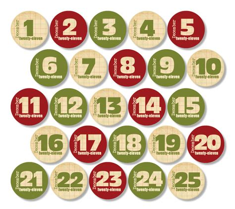 printable tags with numbers 7 best images of christmas printable number tags free