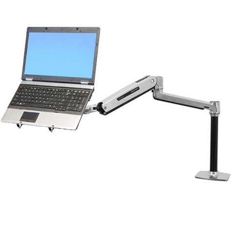 Ergotron Lx Sit Stand Laptop Desk Mount Arm Laptop Mounts For Desk