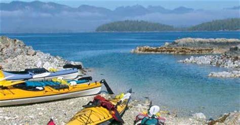 ucluelet public boat launch kayaking in broken group islands clayoquot sound barkley