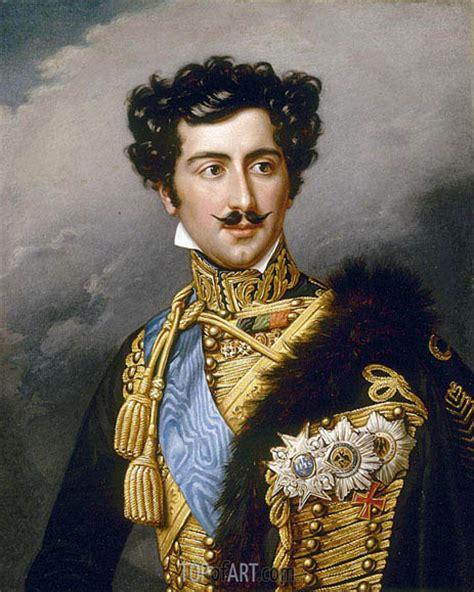 painting king portrait of king oskar of sweden as crown prince joseph