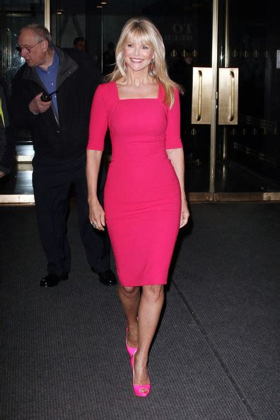 Dress Cristie christie brinkley cocktail dress christie brinkley looks