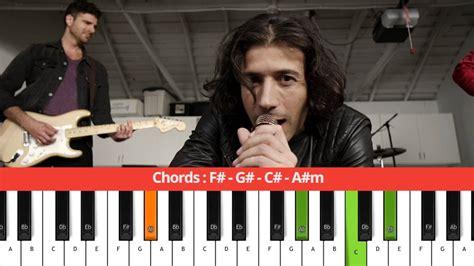tutorial gitar rude magic magic rude chords piano tutorial