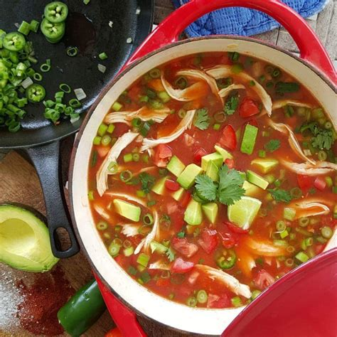 the best chicken tortilla soup recipe clean food crush