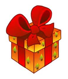 Gift with a big bow buying christmas gifts for christmas gift clipart