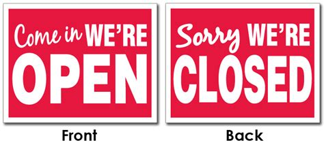 open closed sign template open closed sign template