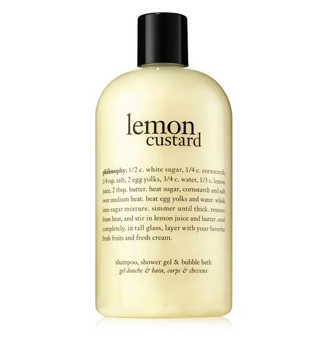 Philosophy Detox Shower Gel by Lemon Custard Shower Gel Philosophy