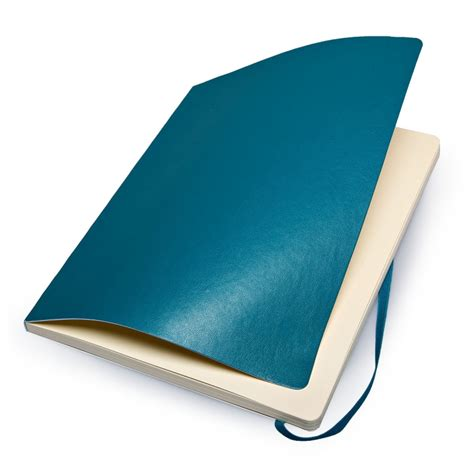 Blue Notebook Large mojolondon moleskine soft cover plain underwater blue notebook x large
