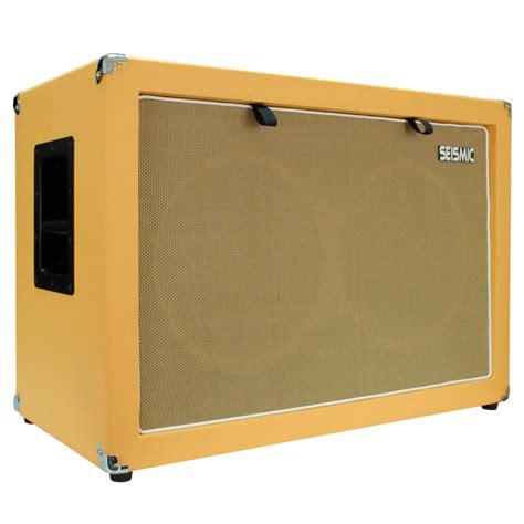 2x12 guitar cabinet empty seismic audio 2x12 guitar speaker cabinet 212 empty cab