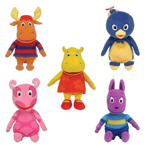 ty quot the backyardigans quot beanie babies all 5 if i had a