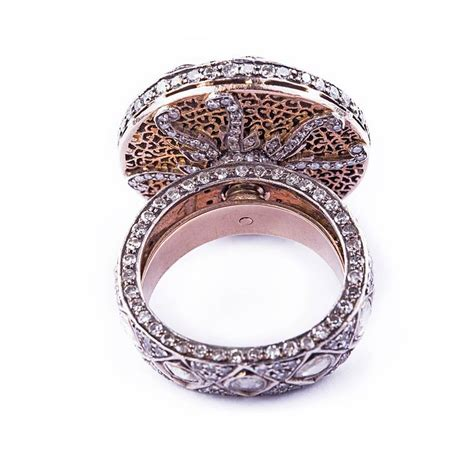 traditional two color gold wedding ring at 1stdibs