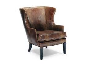 precedent furniture living room leather wing chair l2509