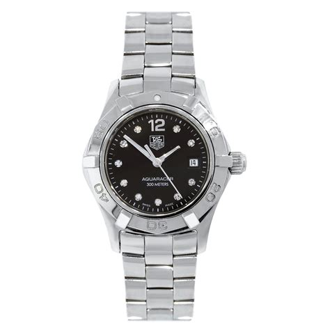 tag heuer watches tag heuer waf141c aquaracer dial ladies watch