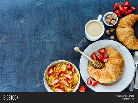 Delicious Breakfast Table Corn Image & Photo   Bigstock