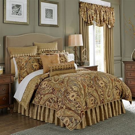 jcpenney comforter set croscill classics 174 ashton 4 pc comforter set jcpenney