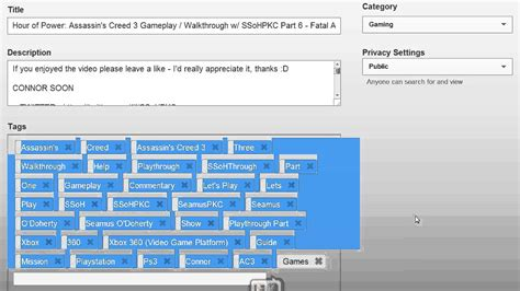 related video how to copy and paste video tags the easy way on the new