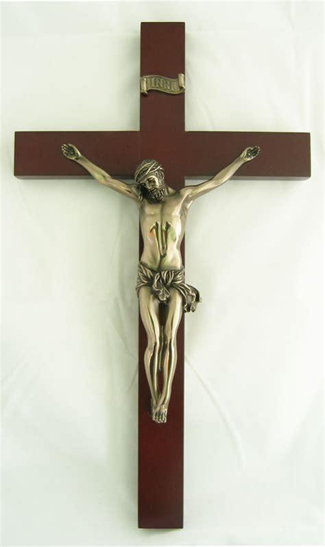 decorative wall crucifix wall crucifix wood cross corpus jesus church