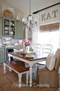 kitchen table decorating ideas pictures tip farmhouse table amp vintage ceramics gt tap into