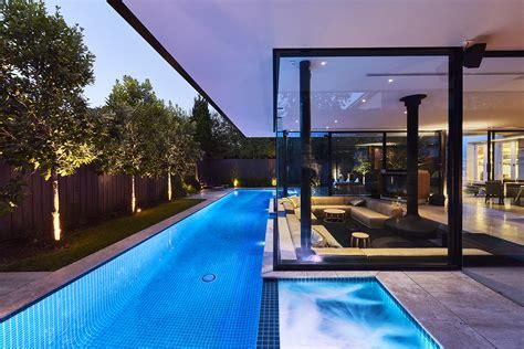 Sunken Living Room oftb melbourne landscaping architecture pool design