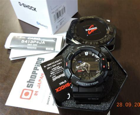 Casio G Shock Gba 400 1a Original g shock bluetooth gba 400 1ajf g mix series black gba 400