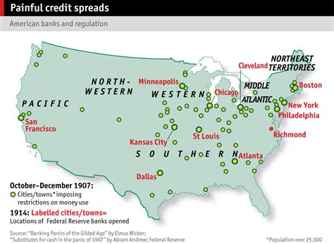 largest cities in the us map financial crises the economist