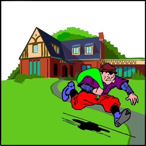robbing a house house robbery clip art at clker com vector clip art online royalty free public domain