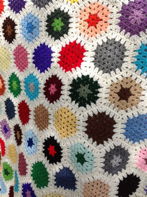 Crochet Patchwork Blanket - patchwork quilted crochet afghan blanket throw by