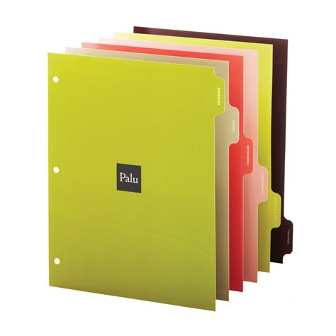 Decorative Tab Dividers by Gallery Alltab