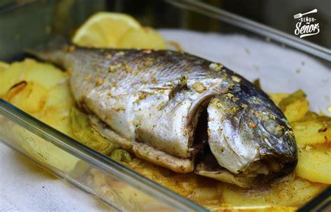 dorada al horno ala sal receta de dorada al horno receta de sergio