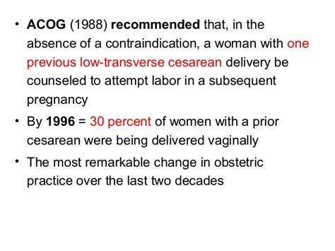 repeat low transverse cesarean section cesarean delivery