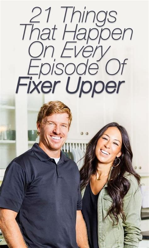 cast of fixer upper 21 things that happen on every episode of fixer upper