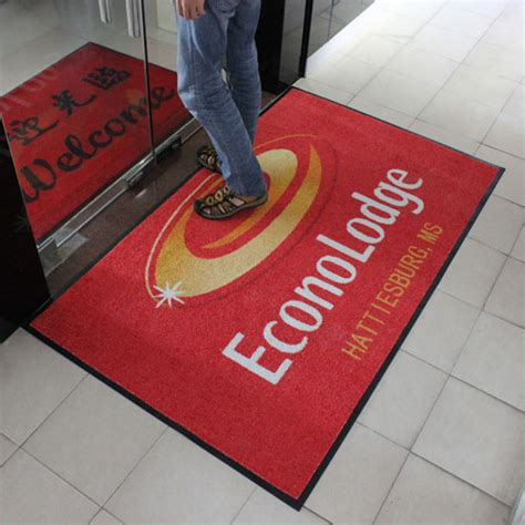 Mat Advertising by Custom Printed Logo Mats And Door Mats