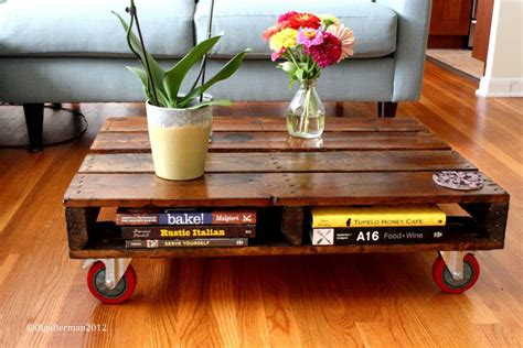 from trash to treasure diy pallet coffee table blogher