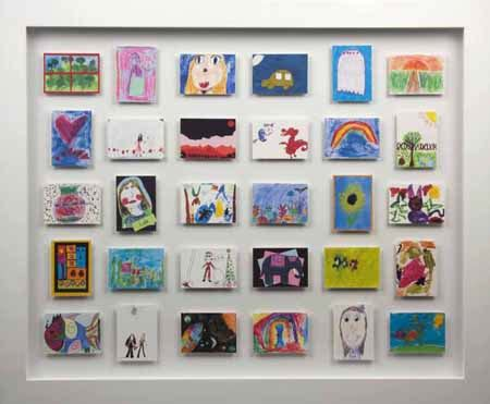 how to display kids art without making it bothersome my pigeon pair mini monet s storing and displaying