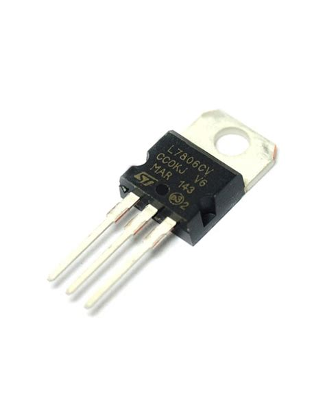 linear integrated circuit voltage regulator linear voltage regulator lm7806 6v منظم الجهد 6 فولت