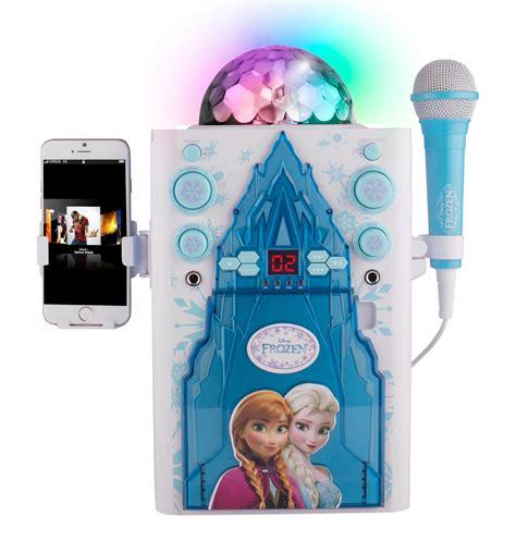 film frozen karaoke frozen disney s karaoke novelty with colored screen