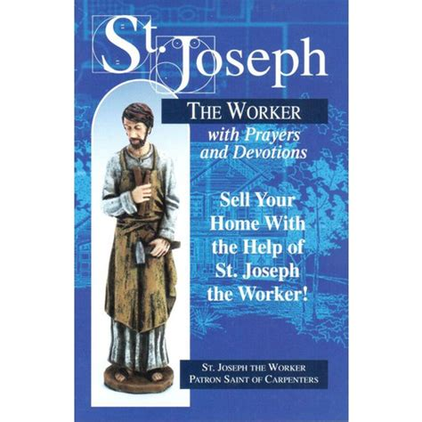 st joseph prayer to sell house st joseph the worker art book covers