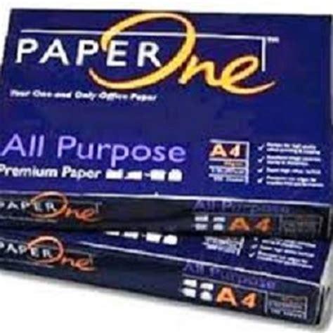 Kertas Hvs A4 80 Gram Paper One jual kertas hvs paper one a4 80gr aipel computer