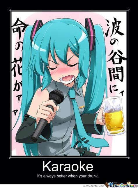 Funny Karaoke Meme - drunk karaoke by ipokel meme center