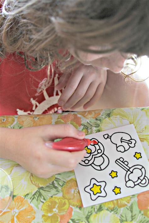 Gelarti Pack Funky whimsy gelarti stickers review giveaway