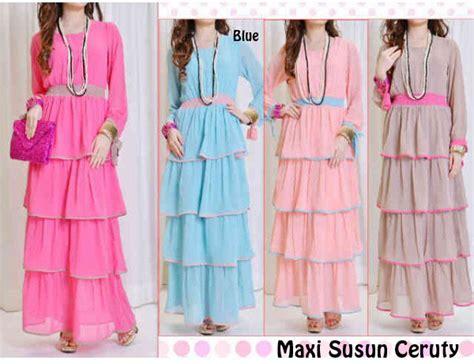 Maxi Spandek Ceruty d kayangan collection maxi dress