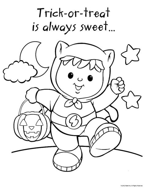 halloween coloring pages pinterest little people halloween 2 coloring pages pinterest