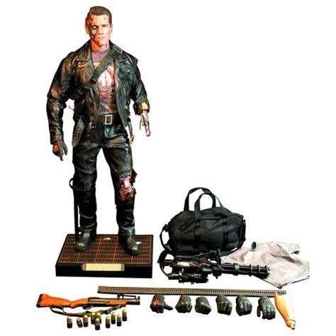 terminator 2 figures terminator 2 t 800 battle damage 1 4 scale figure