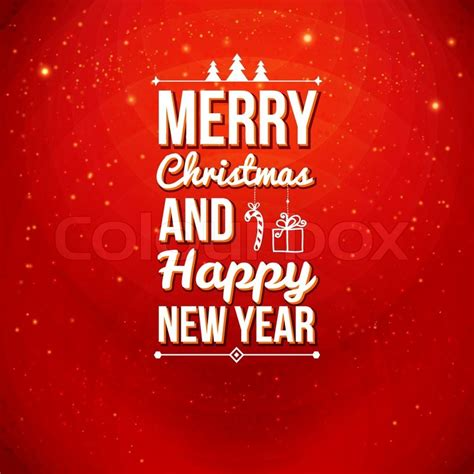 merry christmas  happy  year card holiday background  lettering   easily
