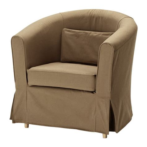 fitted armchair covers ikea ektorp tullsta armchair slipcover chair cover idemo light brown