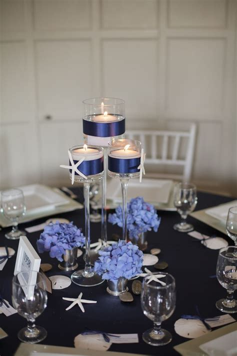 sailor themed centerpieces nautical wedding centerpieces nautical candle wedding centerpiece natucial
